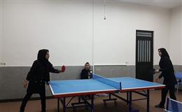 برگزاری مسابقات تنیس روی میز به مناسبت 16 آذر